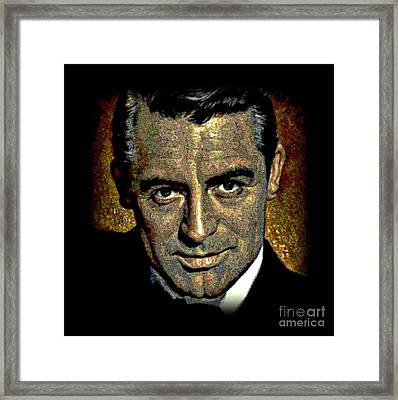 Cary Grant Framed Print by Wbk