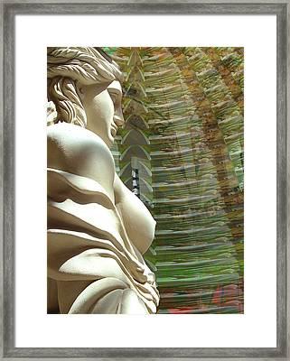 Caryatid Framed Print