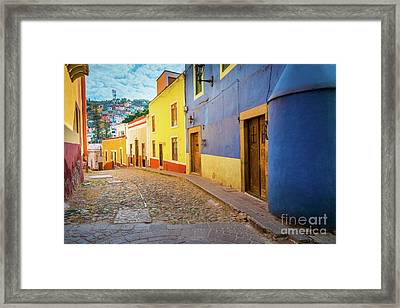 Casa Azul Framed Print by Inge Johnsson