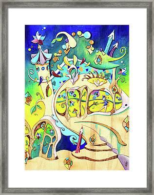 Casa Batllo - Antoni Gaudi Barcelona Framed Print