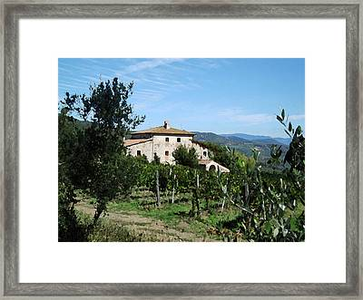 Casa Bella Framed Print by Paul Barlo