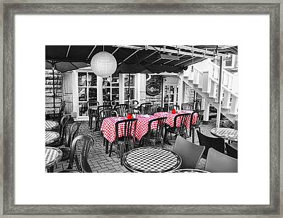 Casa Calzone Framed Print
