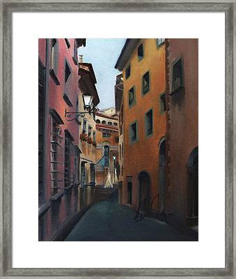 Casa Cordati Framed Print by Leah Wiedemer