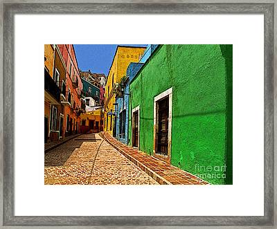 Casa De Lima Framed Print by Mexicolors Art Photography