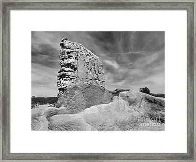 Casa Grande Ruins II Framed Print