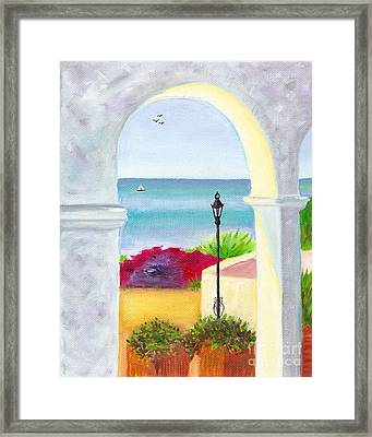 Casa Romantica View Framed Print