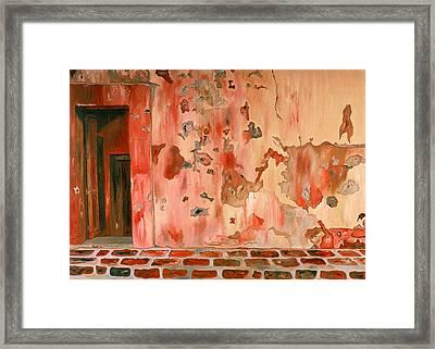 Casa Vieja Old House Framed Print by Oudi Arroni