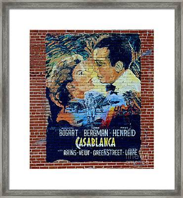 Casablanca Mural 2013 Framed Print