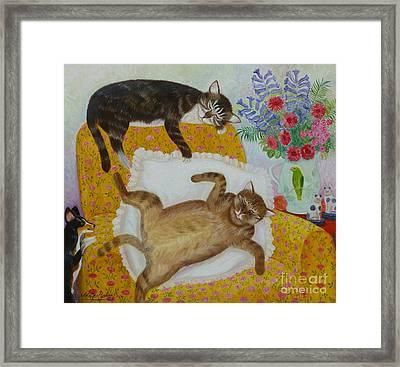 Casanova And Prince Framed Print
