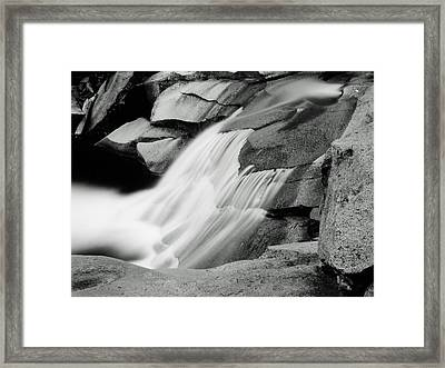 Framed Print featuring the photograph Cascade 2 by Allan McConnell