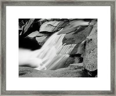 Cascade 2 Framed Print by Allan McConnell