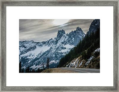 Cascade Beauty Framed Print