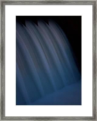 Framed Print featuring the photograph Cascade De Azure by David Dunham