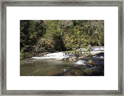 Cascade Falls Framed Print by Ricky Dean