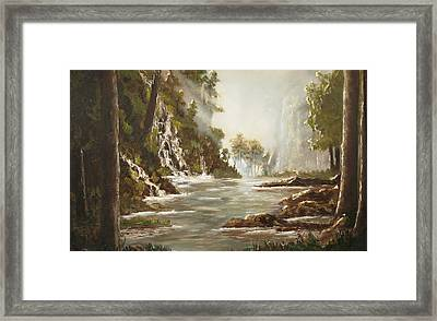 cascade I Framed Print
