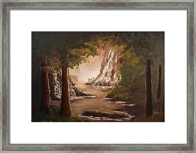 cascade II Framed Print