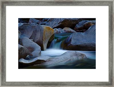 Cascade Framed Print by John Daly