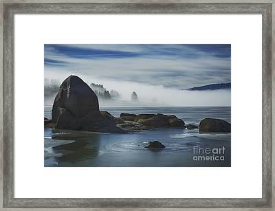 Cascade Mists Framed Print by Idaho Scenic Images Linda Lantzy