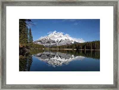 Cascade Mountain Framed Print