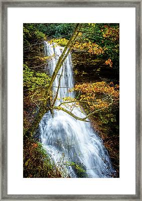 Cascades Deck View Framed Print