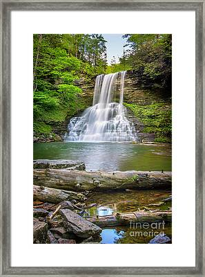 Cascades Falls Giles County Framed Print
