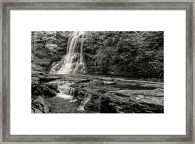 Cascades Waterfall Framed Print