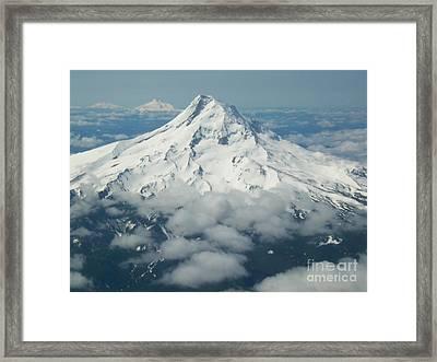 Cascadia Framed Print