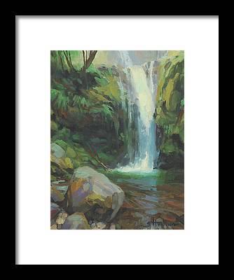 Mossy Framed Prints