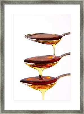 Framed Print featuring the photograph Cascading by Gert Lavsen