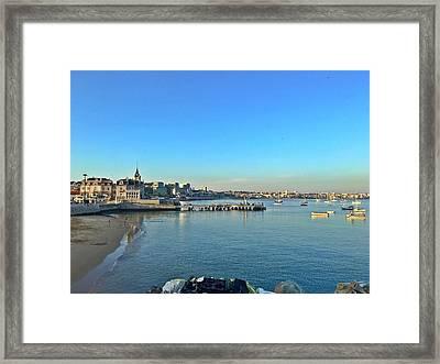 Cascais Marina Framed Print