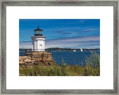 Casco Bay Afternoon Framed Print