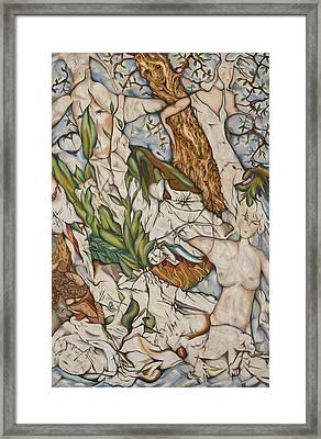 Case Of Forest Framed Print by Turgay Denizel
