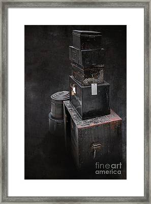 Cases Framed Print by Svetlana Sewell