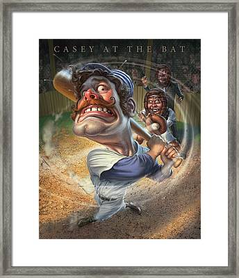 Casey At The Bat Framed Print