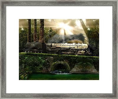 Casey Jones Framed Print