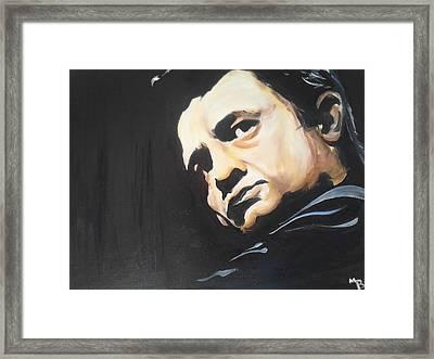 Cash Framed Print by Matt Burke