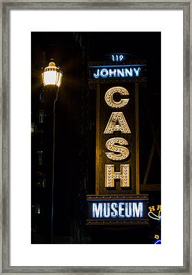Cash Framed Print