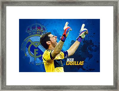 Casillas Framed Print