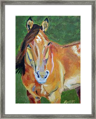 Casino Framed Print by Anne West