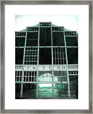 Casino Framed Print by Colleen Kammerer