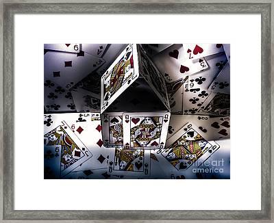 Casino House Framed Print