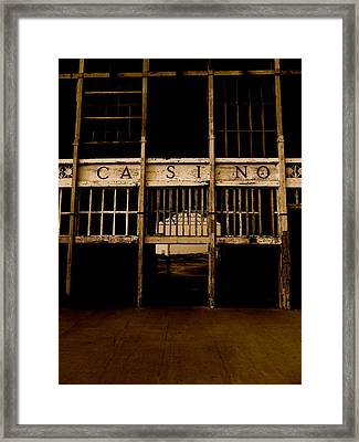 Casino Framed Print
