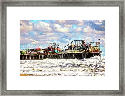Casino Pier, Seaside Heights Framed Print