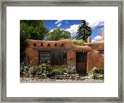 Casita De Santa Fe Framed Print