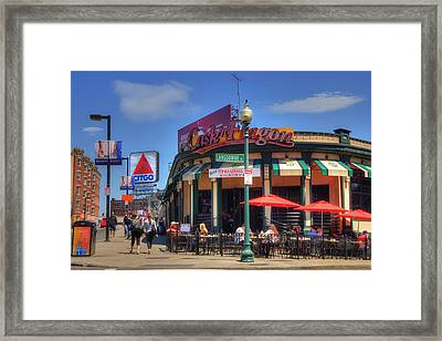 Cask'n Flagon And The Citgo Sign - Boston Framed Print
