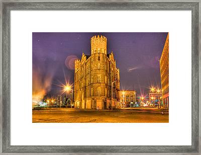 Cass Castle Detroit Mi Framed Print