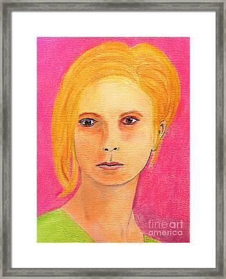 Cassandra Framed Print