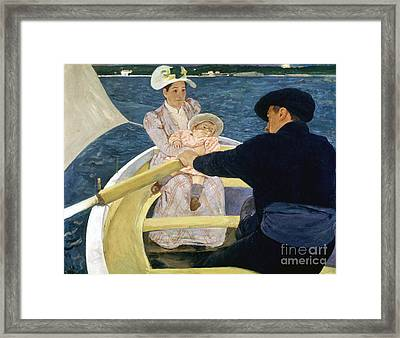 Cassatt: Boating, 1893-4 Framed Print by Granger