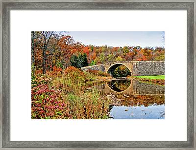 Casselman River Bridge Framed Print