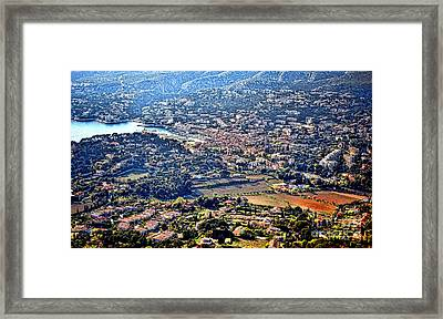 Cassis Framed Print by Olivier Le Queinec
